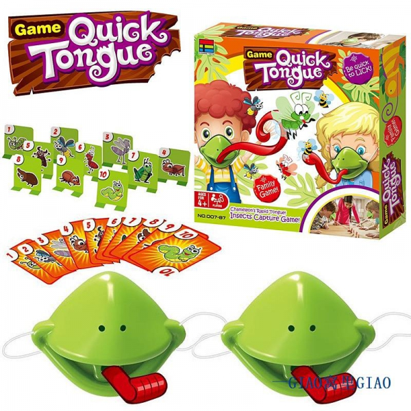 """Žaidimas """" Quick tongue"""""""