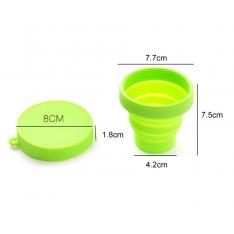 Silikoninis puodelis