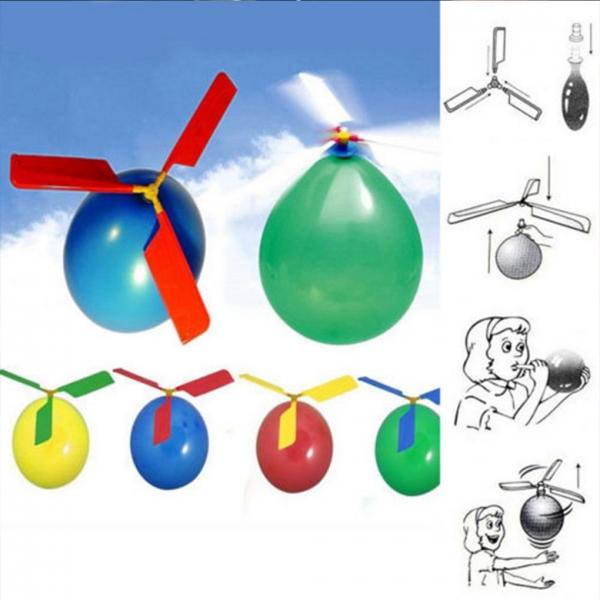 Žaislas - balionų helikopteris