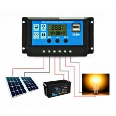 Įkrovimo valdiklis saulės baterijoms