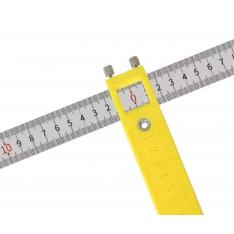 Skylių centravimo įrankis