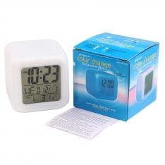 Spalvas keičiantis elektroninis laikrodis