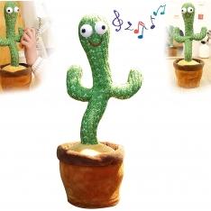 Šokantis ir atkartojantis žodžius kaktusas