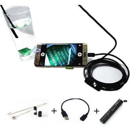 Endoskopinė kamera 5.5MM telefonams 5M