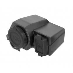 Automobilio lizdas 12V USB 5V 2A