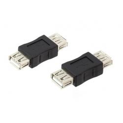 Perėjimas USB A-FEMALE Į USB A-FEMALE