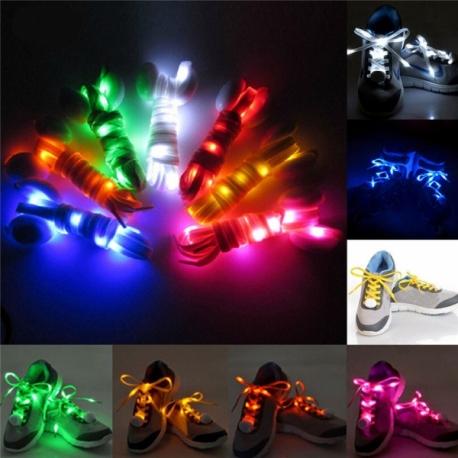 LED šviečiantys batų raišteliai