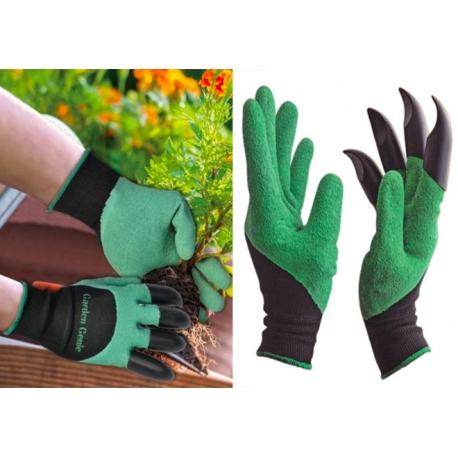 "Universalios sodo pirštinės su nagais ""Garden Genie Gloves"""